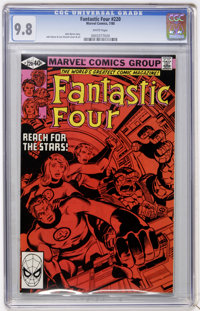Fantastic Four #220 (Marvel, 1980) CGC NM/MT 9.8 White pages