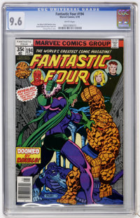 Fantastic Four #194 (Marvel, 1978) CGC NM+ 9.6 White pages