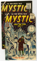 Golden Age (1938-1955):Horror, Mystic #38 and 45 Group (Atlas, 1955-56).... (Total: 2 Comic Books)