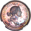 Patterns, 1870 50C Standard Silver Half Dollar, Judd-990, Pollock-1119, HighR.7, PR66 Brown NGC....