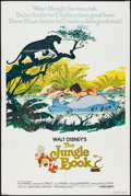 "Movie Posters:Animation, The Jungle Book & Others Lot (Buena Vista, R-1978). One Sheets(3) (27"" X 41""). Animation.. ... (Total: 3 Items)"