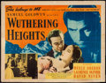 "Movie Posters:Romance, Wuthering Heights (United Artists, 1939). Half Sheet (22"" X 28""). Romance.. ..."