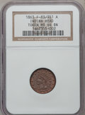 Civil War Patriotics, 1863 Indian Head Token MS64 Brown NGC. Fuld-81/351a. Incorrectlydesignated as Fuld-83/351a....