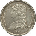 Bust Quarters, 1831 25C Small Letters -- Improperly Cleaned -- NGC Details. AU.NGC Census: (24/376). PCGS Population (35/281). Mintage: 3...