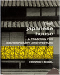 Books:Art & Architecture, Heinrich Engel. The Japanese House: A Tradition for Contemporary Architecture. Tuttle, 1975. Sixth printing. Mild to...