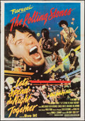 "Movie Posters:Rock and Roll, Let's Spend the Night Together (Embassy, 1983). Argentinean Poster(29"" X 43""). Rock and Roll.. ..."