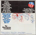 """Movie Posters:Thriller, The Manchurian Candidate (United Artists, 1962). Six Sheet (79"""" X 79""""). Thriller.. ..."""