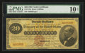 Large Size:Gold Certificates, Fr. 1175a $20 1882 Gold Certificate PMG Very Good 10 Net.. ...