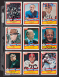 Football Cards:Lots, 1989 Collection of Swell Signed Hall of Fame Cards - Lot of 57. ...