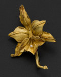 Estate Jewelry:Brooches - Pins, Large 18k Gold Victorian Brooch. ...