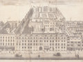 Fine Art - Work on Paper:Print, FURNIVALS INN IN HOLBURN . 1754. Engraving. 13-1/2 x 18 inches (34.3 x 45.7 cm). The Elton M. Hyder, Jr. Charitable and Ed...