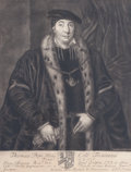 Fine Art - Work on Paper:Print, THOMAS POPE MILES. 18th century. Etching. 11 x 8-1/2 inches (27.9 x 21.6 cm). The Elton M. Hyder, Jr. Charitable and Educa...