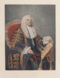 Fine Art - Work on Paper:Print, EDWARD HARDING (British, 1755-1840). Philip, First Earl of Hardwicke, 18th century. Engraving. 13-1/4 x 10-1/4 inches (3...