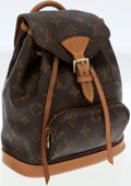 Luxury Accessories:Bags, Louis Vuitton Classic Monogram Canvas Mini Montsouris Backpack Bag....