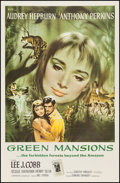 """Movie Posters:Drama, Green Mansions (MGM, 1959). One Sheet (27"""" X 41""""). Drama.. ..."""