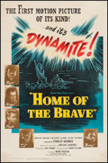 "Movie Posters:War, Home of the Brave (United Artists, 1949). One Sheet (27"" X 41"").War.. ..."