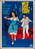 "Movie Posters:Academy Award Winners, West Side Story (United Artists, R-1966). Italian 2 - Foglio (39"" X55""). Academy Award Winners.. ..."