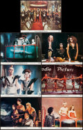 "Movie Posters:Rock and Roll, The Rocky Horror Picture Show (20th Century Fox, 1975). Lobby Cards(7) (11"" X 14"") and Special Poster (17"" X 22""). Rock and... (Total:8 Items)"