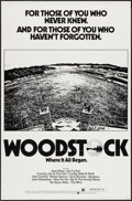 """Movie Posters:Rock and Roll, Woodstock (Warner Brothers, R-1976). One Sheet (27"""" X 41""""). Rockand Roll.. ..."""