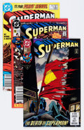 Modern Age (1980-Present):Superhero, Superman Box Lot (DC, 1987-95) Condition: Average NM-....