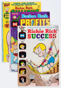 Bronze Age (1970-1979):Cartoon Character, Richie Rich Profits and Others Group (Harvey, 1966-81) Condition: Average VF....