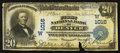National Bank Notes:Colorado, Denver, CO - $20 1902 Plain Back Fr. 650 The First NB Ch. #(W)1016. ...