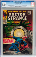 Silver Age (1956-1969):Horror, Strange Tales #164 (Marvel, 1968) CGC VF/NM 9.0 Off-white to whitepages....
