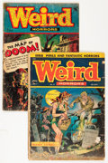 Golden Age (1938-1955):Horror, Weird Horrors #8 and 9 Group (St. John, 1953) Condition: AverageFR/GD.... (Total: 2 Comic Books)