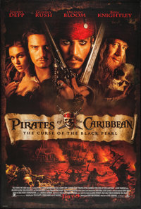 """Pirates of the Caribbean: The Curse Of The Black Pearl (Buena Vista, 2003). One Sheet (27"""" X 40"""") DS Advance..."""