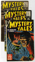 Golden Age (1938-1955):Horror, Mystery Tales Group (Atlas, 1955-56).... (Total: 3 Comic Books)