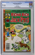 Modern Age (1980-Present):Humor, Richie Rich Jackpots #57 File Copy (Harvey, 1982) CGC NM+ 9.6 Whitepages....