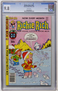 Modern Age (1980-Present):Humor, Richie Rich #201 File Copy (Harvey, 1981) CGC NM/MT 9.8 Whitepages....