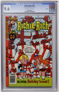 Modern Age (1980-Present):Humor, Richie Rich #187 File Copy (Harvey, 1980) CGC NM+ 9.6 Off-white towhite pages....