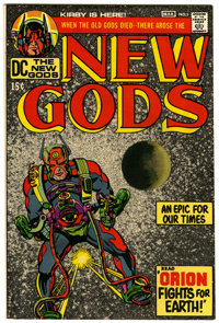 The New Gods #1 (DC, 1971) Condition: VF/NM