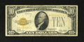 Small Size:Gold Certificates, Fr. 2400* $10 1928 Gold Certificate Star. Very Good-Fine.. The serial numbers are easy to read and this is not always the ca...