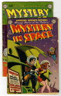 Golden Age (1938-1955):Science Fiction, Mystery in Space Group (DC, 1951-52).... (Total: 2 Comic Books)