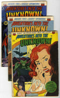 Silver Age (1956-1969):Horror, Adventures Into The Unknown/Unknown Worlds Group (ACG, 1951-67)....(Total: 13 Comic Books)