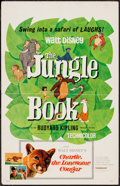 """Movie Posters:Animation, The Jungle Book (Buena Vista, 1967). Window Card (14"""" X 22""""). Animation.. ..."""