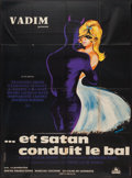 "Movie Posters:Drama, And Satan Calls the Turns (Cocinor, 1962). French Grande (46"" X 62""). Drama.. ..."