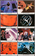 "Movie Posters:Science Fiction, 2001: A Space Odyssey (MGM, R-1980). Color Photo Set of 8 (8"" X10""). Science Fiction.. ... (Total: 8 Items)"