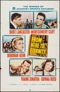 """Movie Posters:Academy Award Winners, From Here to Eternity (Columbia, R-1958). One Sheet (27"""" X 41""""). Academy Award Winners.. ..."""