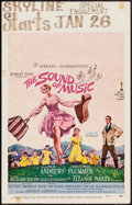 "Movie Posters:Academy Award Winners, The Sound of Music (20th Century Fox, 1966). Academy Award WindowCard (14"" X 22""). Academy Award Winners.. ..."