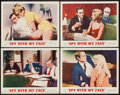 """Movie Posters:Action, The Spy with My Face (MGM, 1965). Lobby Card Set of 4 (11"""" X 14""""). Action.. ... (Total: 4 Items)"""