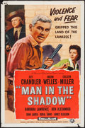 "Movie Posters:Drama, Man in the Shadow (Universal International, 1958). One Sheet (27"" X 41""). Drama.. ..."
