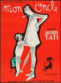 "Movie Posters:Comedy, Mon Oncle (Gaumont, 1958). French Affiche (22.25"" X 30.5"").Comedy.. ..."
