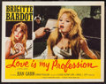 "Movie Posters:Sexploitation, Love is My Profession (Union Films, 1959). Lobby Card (11"" X 14"").Sexploitation.. ..."