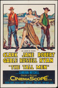 """Movie Posters:Western, The Tall Men (20th Century Fox, 1955). One Sheet (27"""" X 41"""").Western.. ..."""
