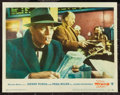 """Movie Posters:Hitchcock, The Wrong Man (Warner Brothers, 1957). Lobby Card (11"""" X 14""""). Hitchcock.. ..."""