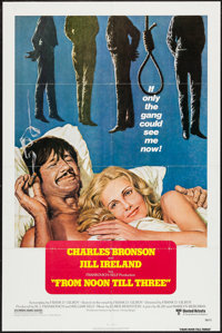"""From Noon Till Three & Others Lot (United Artists, 1976). One Sheets (3) (27"""" X 41"""") Regular and Style B..."""