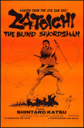 "Movie Posters:Action, Zatoichi, The Blind Swordsman (Roninfilm/Rising Sun, R-1970s). OneSheet (27"" X 41""). Action.. ..."